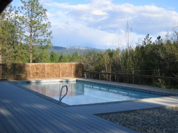 Garden Valley Cabin Geothermal Pool