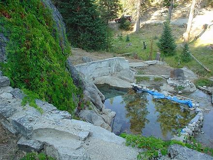 Idaho Hot Springs Bernard Hot Spring Warm Spring