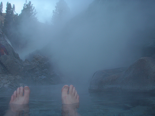 Kirkham Hot Springs in Idaho