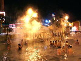Lava Hot Springs in Idaho