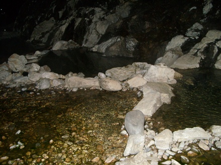 Pine Flats Hot Springs in Idaho