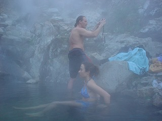 Skinnydipper Hot Springs in Idaho