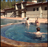 Hot Tubbin at The Springs in Idaho City