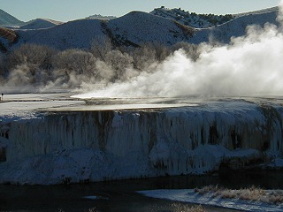 Visiting Hot Springs State Park, Thermopolis Wyoming